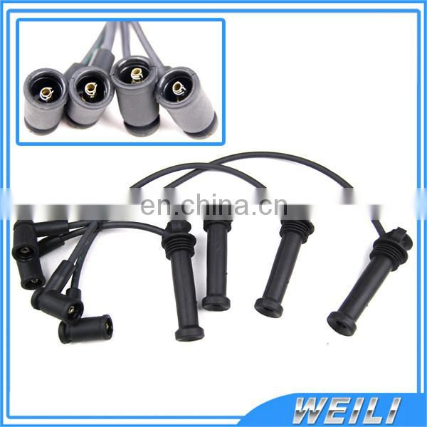 WL14-0091 4 wires Spark plug wire set ignition lead cable for Mondeo Carnival Mazda M6