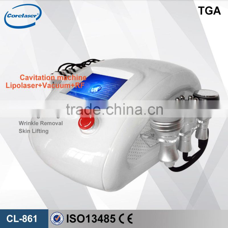 good price! 6 in 1 cavitation machine/vacuum rf/cavitation slimming machine