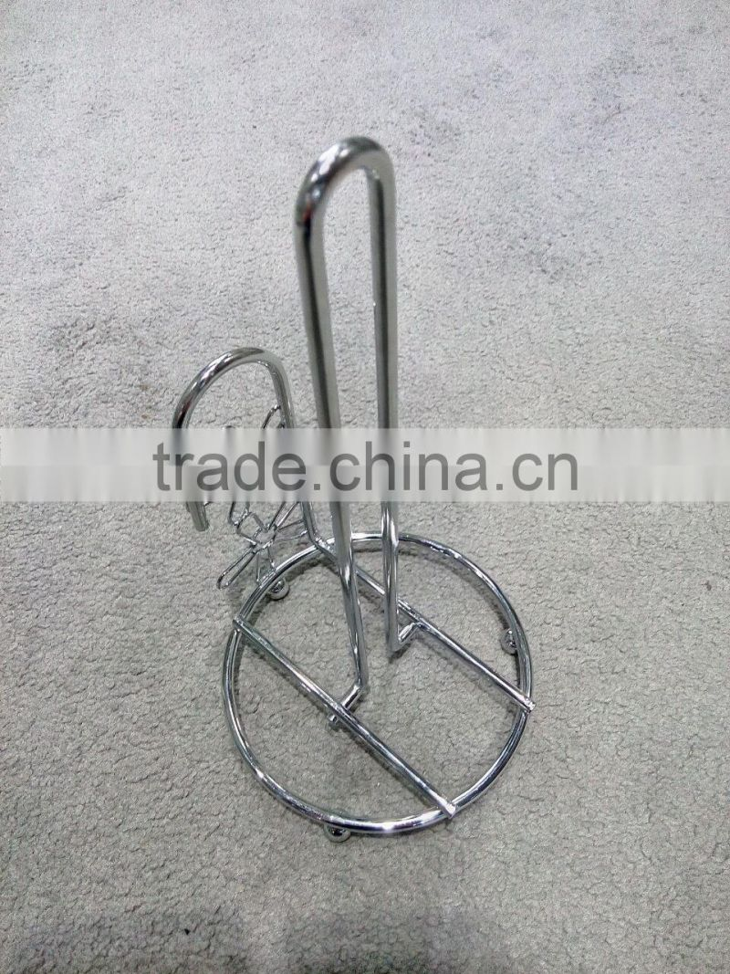 New Item Chrome Tempered Wire Napkin Holder Kitchen Tissue Tray