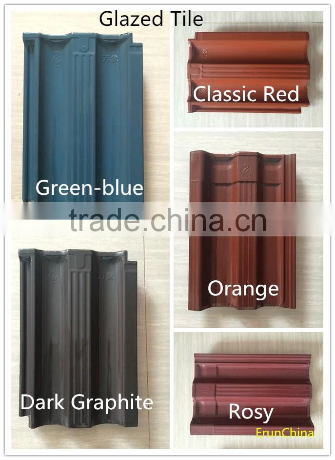 China best selling ceramic roof tile/ exterior terracotta building materials