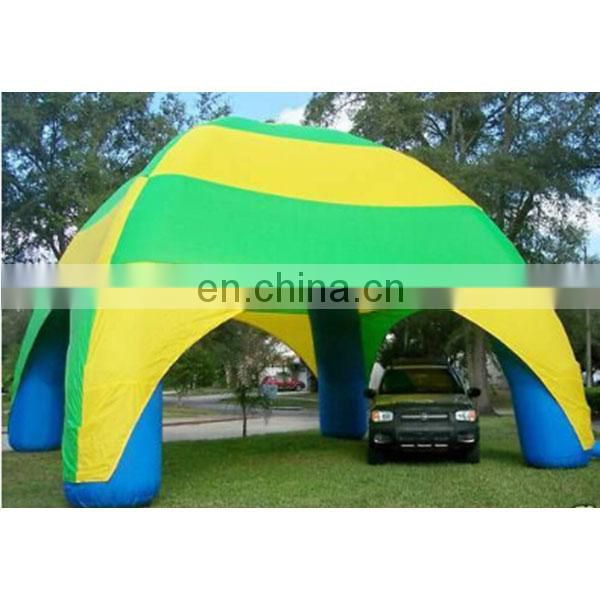 China supplier inflatable advertising tent spider tents for sale