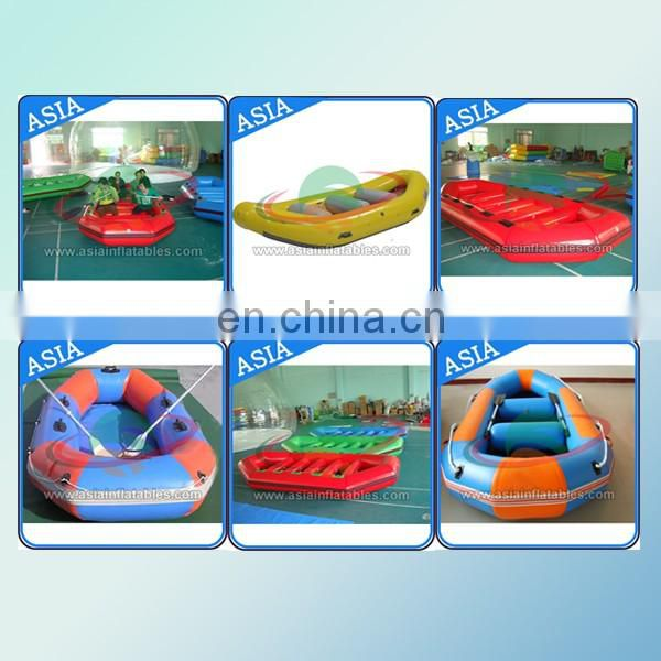 Durable Inflatable fishing Boat with pvc tarpaulin material
