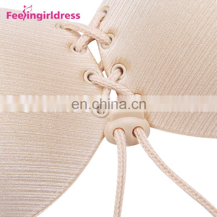 Top Quality Self Adhesive Strapless Magic Sexy Push Up Bra
