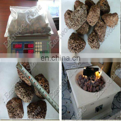 electric grill lava rock sold in bag