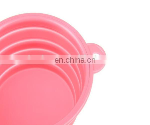 Dog feeding bowl glovion silicone pet dog bowl silicone bowl for dog
