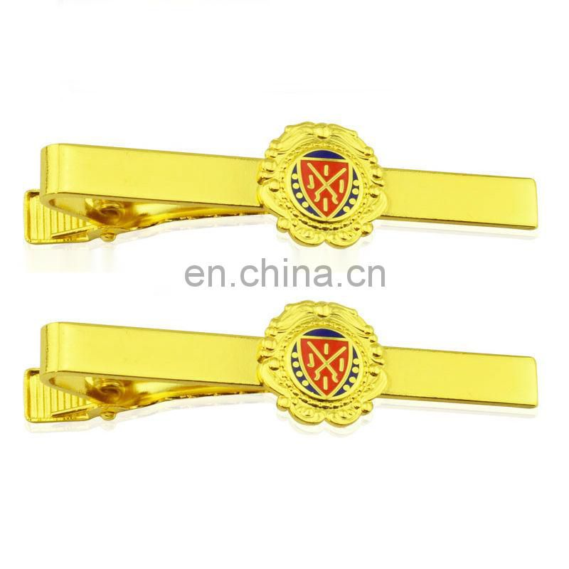 Promotional metal tie clip parts