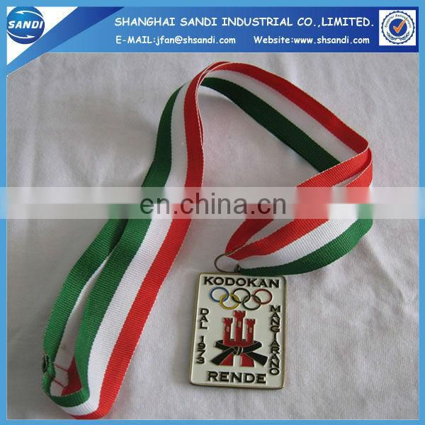Souvenir craft custom award medal ribbons for medals