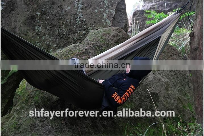 High Quality 10ft * 6 ft large size Parachute Outdoor Portable Camping Hammock