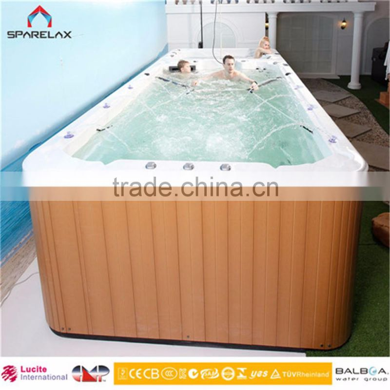 10 Years Warranty Luxury Wirlpool Acrylic Balboa Swimming Spa