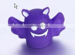 Cute cartoon design eco-friendly PVC bath baby tub floating animal toy