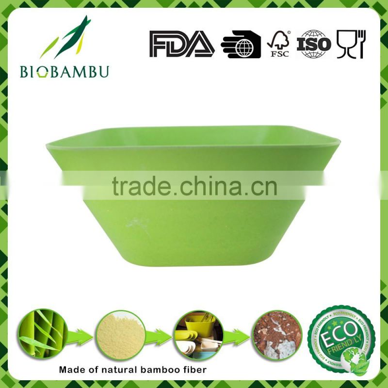 Corn starch Custom High Quality Bamboo Fiber Bowl Set