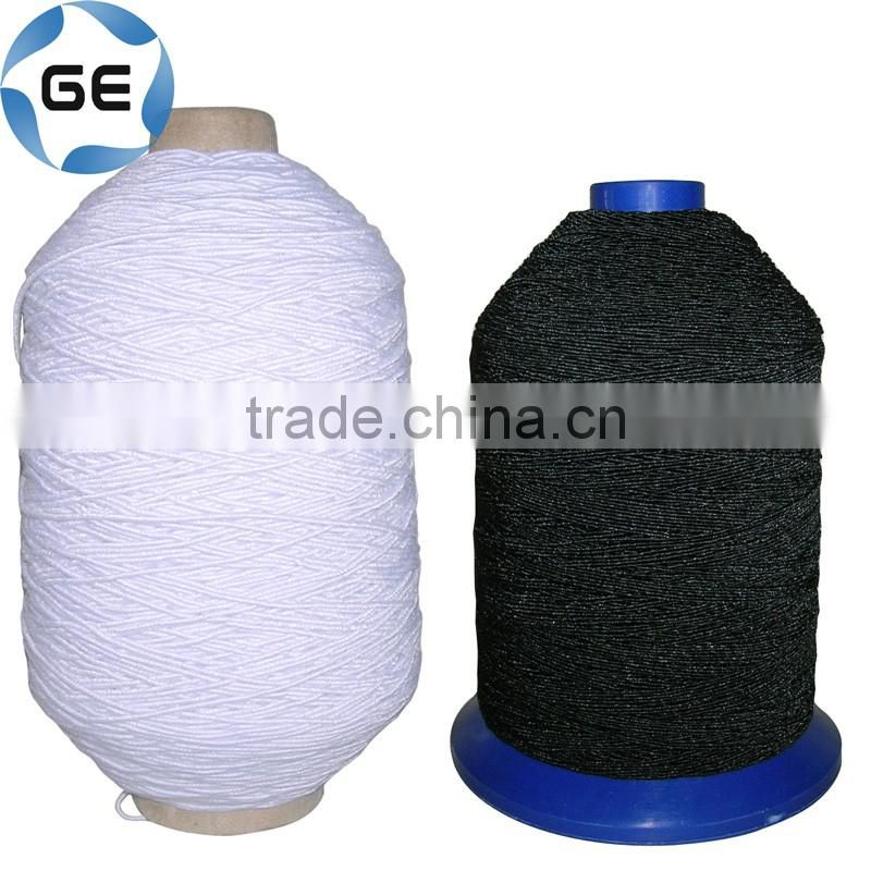 Covered Latex Rubber Elastic Sewing Threads Small Tube for Knitting