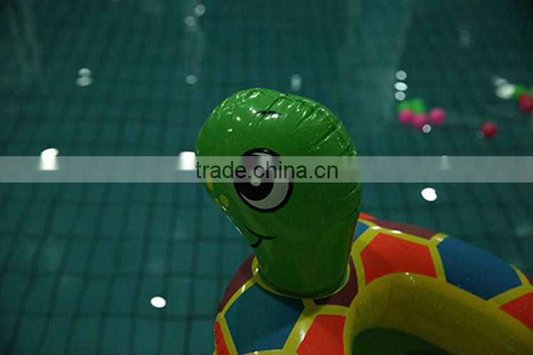 The new 2014 baby swim ring The tortoise take a boat pattern by PVC inflatable boat