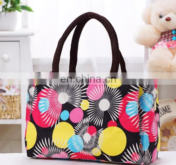 New Arrival Wholesale USA Colorful polka dot Cheap Women shoulder bag