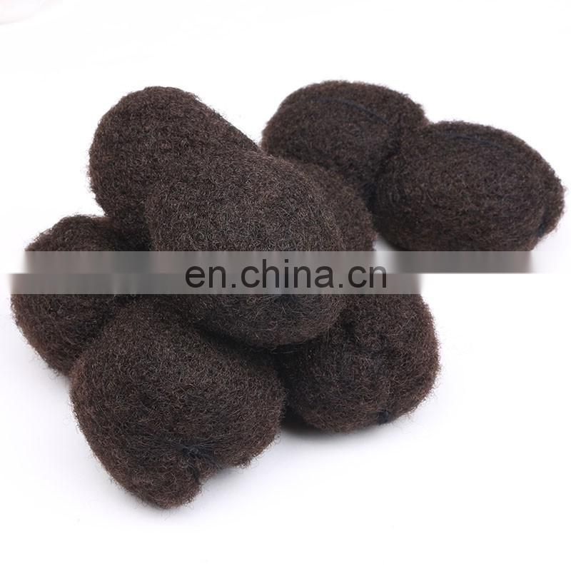 7A Unprocessed Afro Kinky Human Hair, Tight Afro Kinky Hair Extensions, Remy Virgin Afro Kinky Human Hair For Braiding