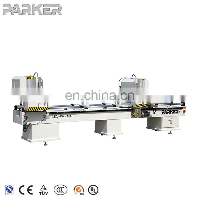 Alu-PVC Profile Double Mitre Saw