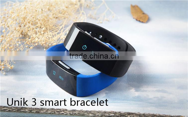 customized wristband bracelet pedometer fitness tracker bluetooth smart watch for Android and ios phone