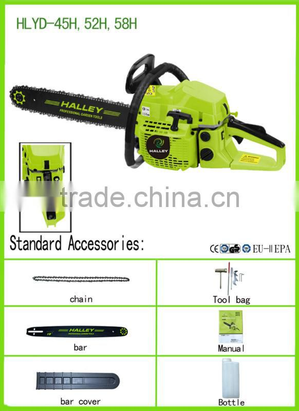 Big Power Hand Saw Tree Cutting Machine Price HLYD - 58H of