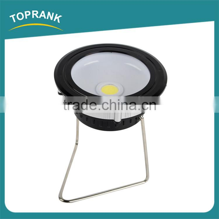 3w battery operated flood lights 120 lumen COB outdoor led flood light