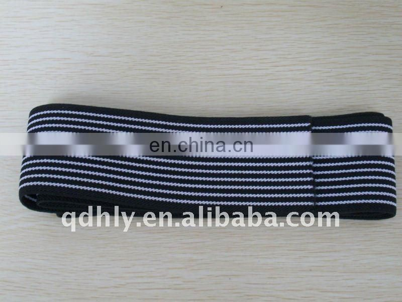 Jacquard elastic webbing for kids' garment