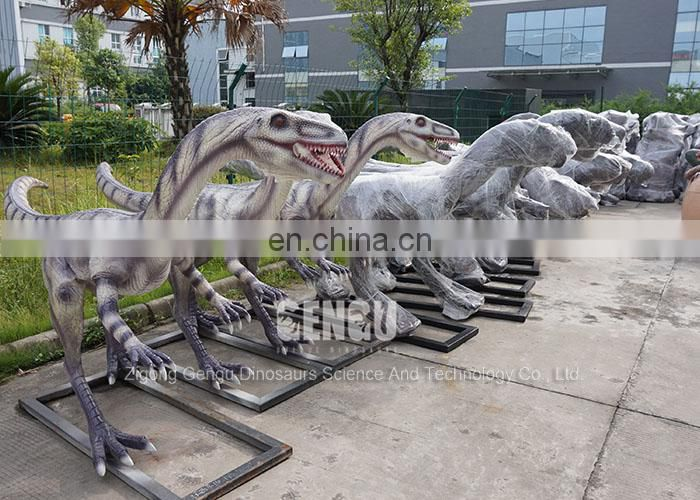 Garden Decoration Lifesize Fiberglass Static Dinosaur