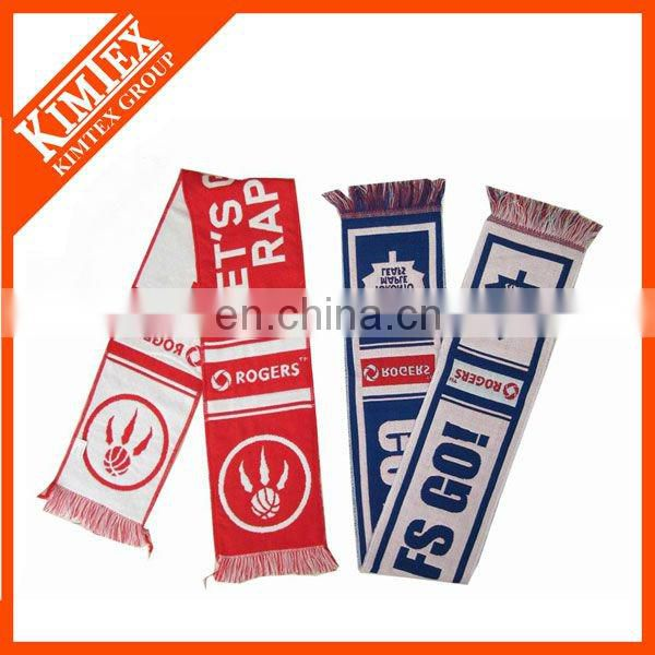 Wholesale blue 100 polyester scarf
