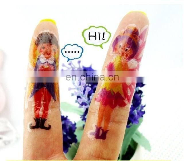 Children's finger tattoo stickers