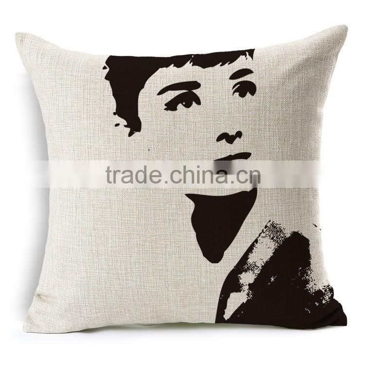 Customizable and Colorful printed decorative cushions cover suitable for hotels and home decoration