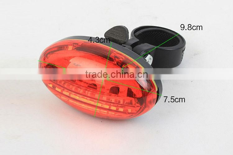 Goread 5 LED Bicycle safety light oval shape