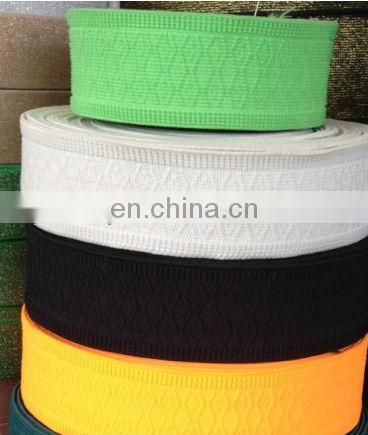 wide custom print elastic band