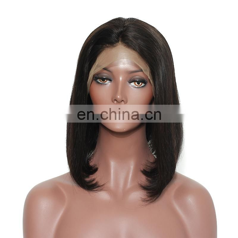 Wholesale hair weave bob brazilian hair wigs