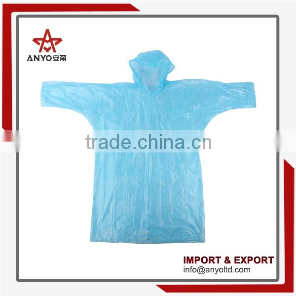 China wholesale high quality new design promotional logo printed disposable rain poncho ball