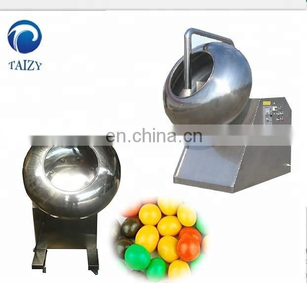 Tablet peanut snack sugar coating machine with sprayer Image