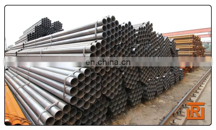ASTM A500 gr.b construction tube, weld carbon mild steel pipe