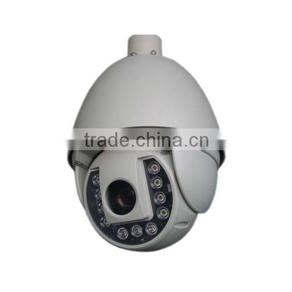 1.3MP CCD Sensor IR High Speed Dome PTZ Camera