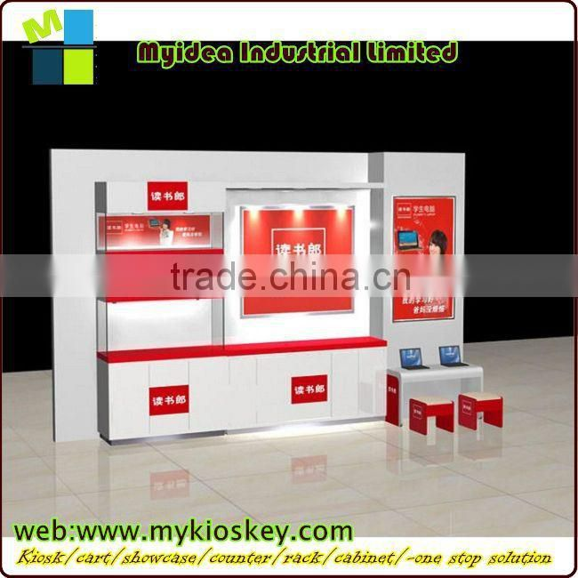 cell phone accessories kiosk & phone repair counter 4x3m for