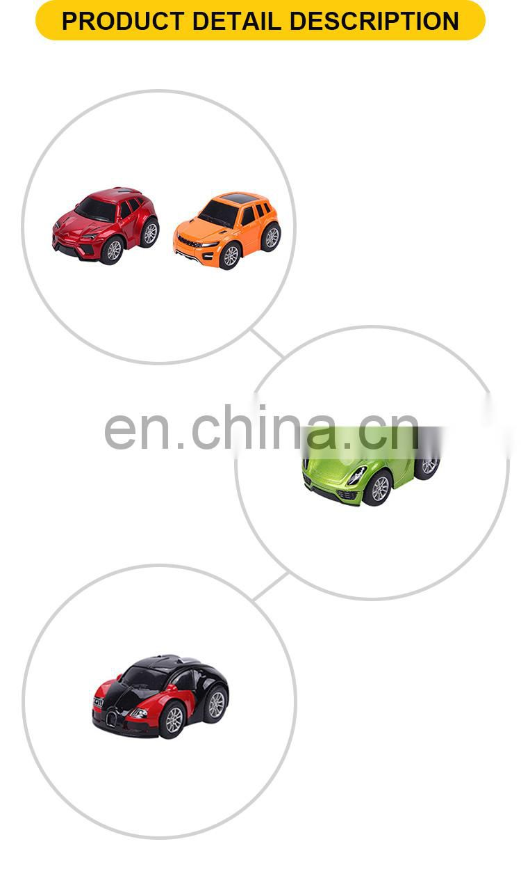 9 cm diecast pull back cute toys cars for kids