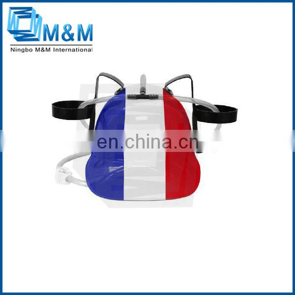 Funny and Fascinating Eco-friendly PP flag hat football supporter helmet