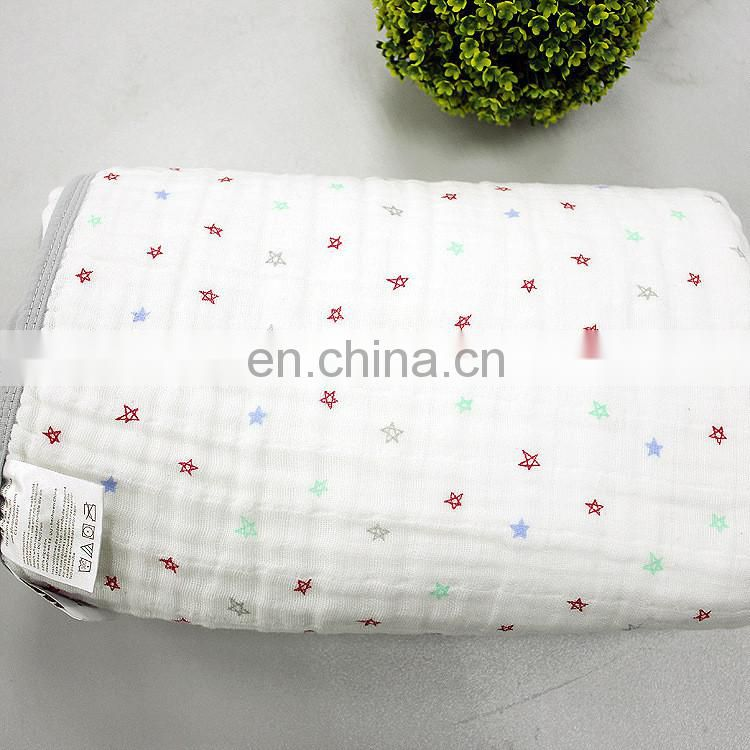 Newborn Baby Play Mat 4 Layers Baby Swaddle Blanket Aden Anais Baby Cotton Bedding Blanket