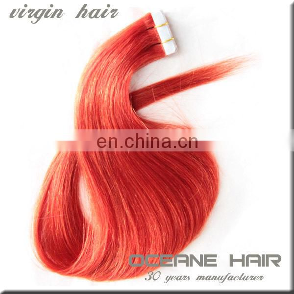 China wholesale hotsale cheap soft thick virgin pink hair extensions