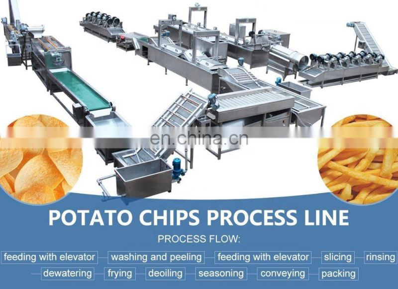 potato chips making machine automatic potato chip maker frozen french fries making machine Image