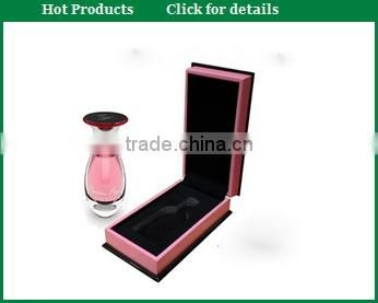 black high gloss box for perfume bottle