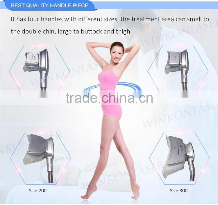 OEM/ODM CE / FDA approved bearty equipment cryolipolysis accent ultra beautiful body shaper fat freeze slimming machine
