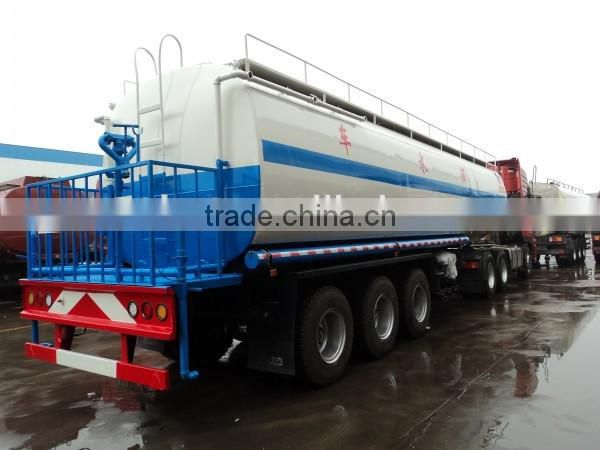 CLW 3 Axis Water Tank Trailer 40000Liter