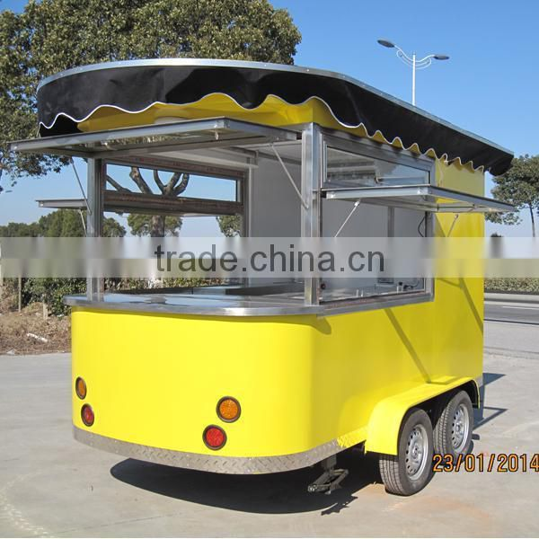 Hot Sale Mobile Food Cart New Style Street Food Vending Cart