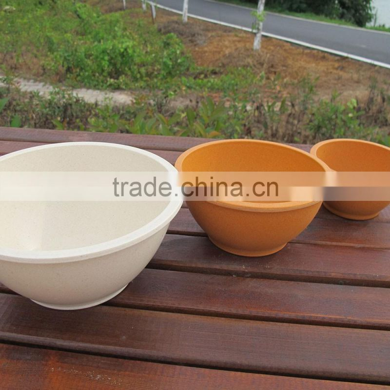 Traditionary Hot design Inexpensive Bamboo Fibre bowl set