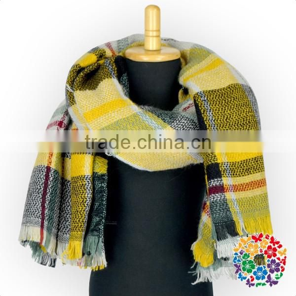 Turkish Pashmina Shawl Red Plaid Winter Shawl Kids Latest Design Shawl