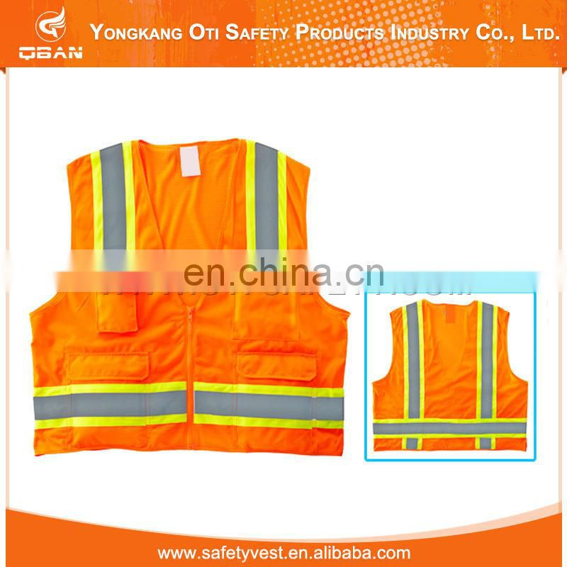 mesh and knit reflective high visilibity safety vest