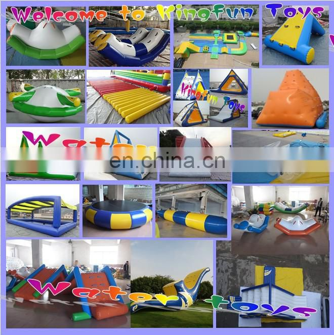 2014 Inflatable aqua sports toys water saturn