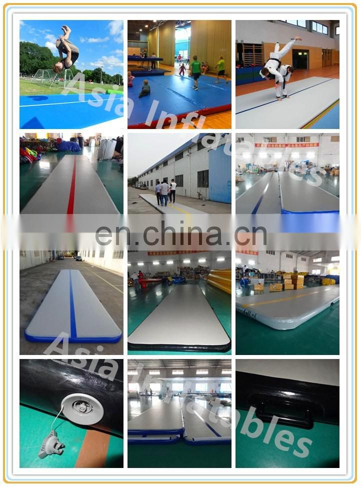 Light Weight Gym Balance Beam / Inflatable Beam Gymnastics Series For Sale